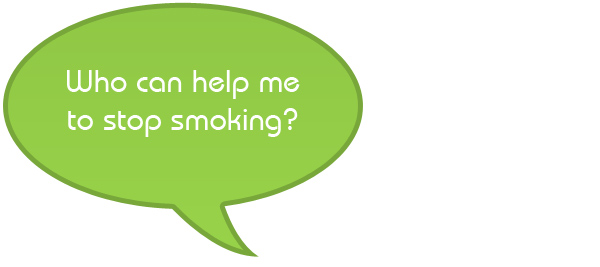 Who can help me to stop smoking?